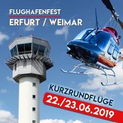 Flughafenfest Erfurt Weimar